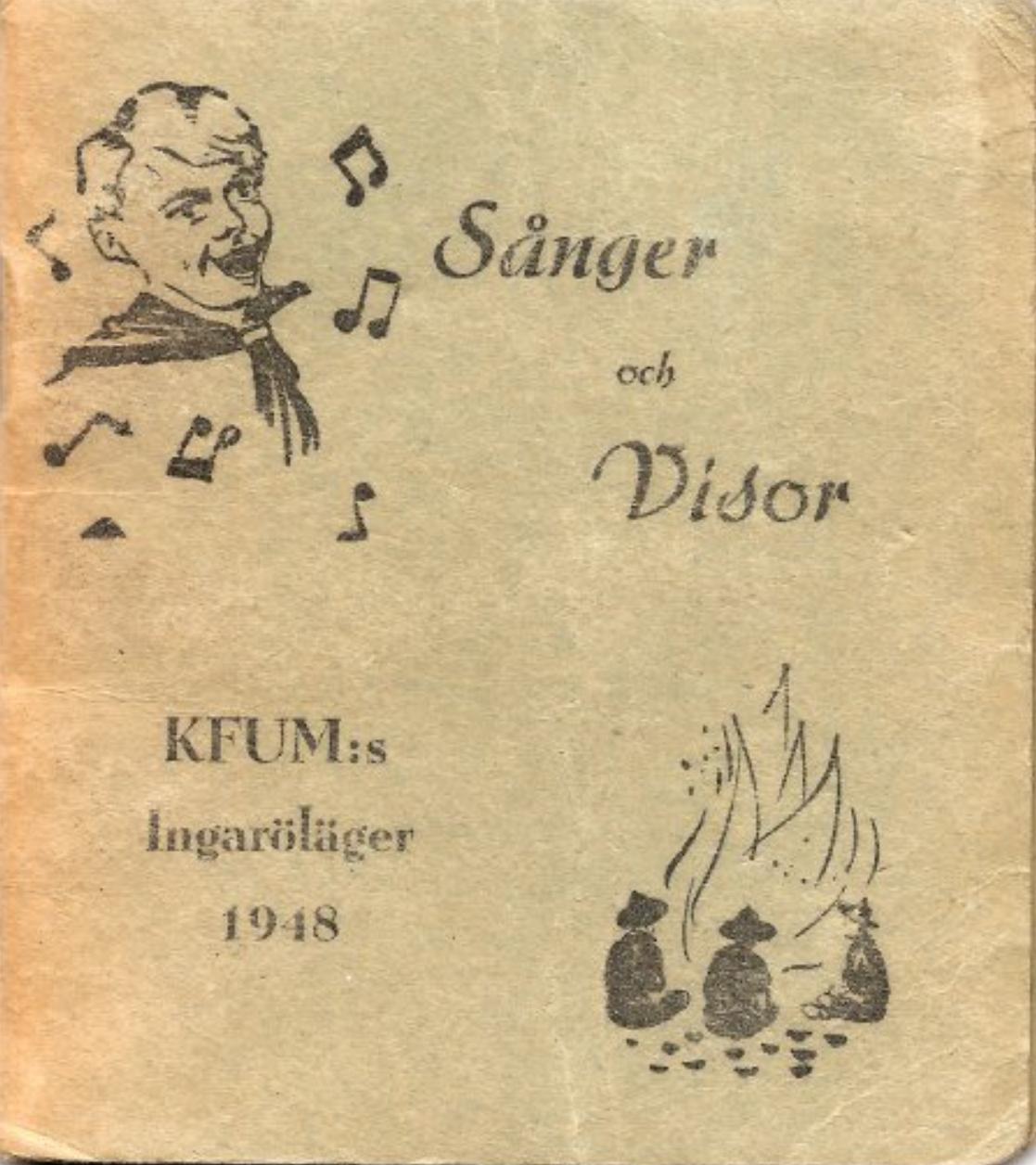 Sånger och Visor KFUMs Ingaröläger 1948