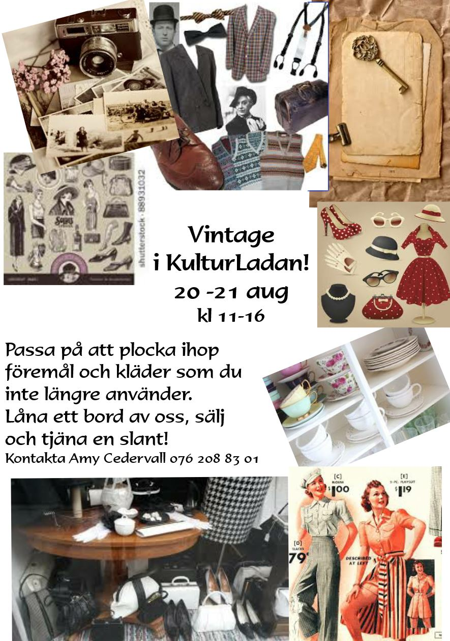 affisch Vintage